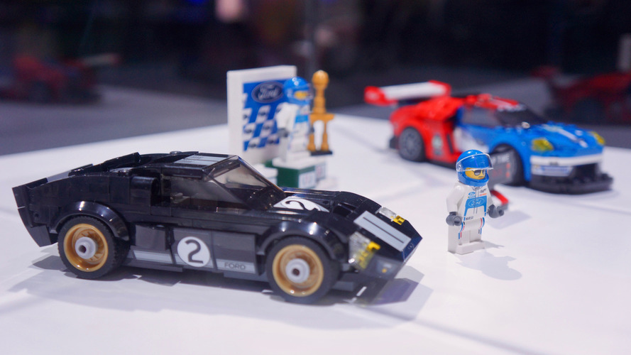 Les Ford GT40 et Ford GT de la collection Lego Speed Champions