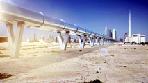 Hyperloop Dubai concept