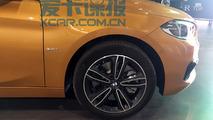 BMW Serie 1 Sedan flagra