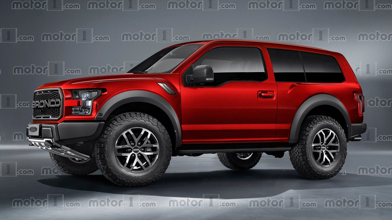 Ford Bronco 2018 render