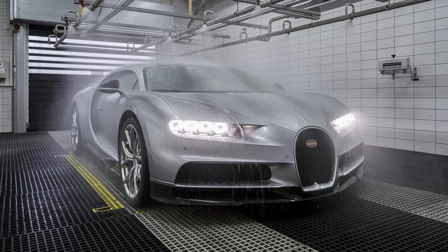 Veja a linha de produção do Bugatti Chiron, o mais veloz do mundo