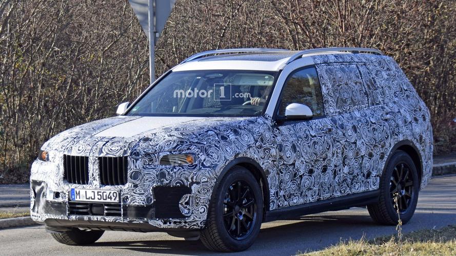 La future BMW X7 2018 en cours d'essais