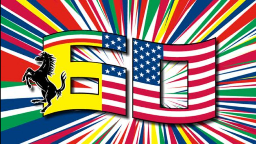 Ferrari, così domenica 12 ottobre si festeggiano i 60 negli USA