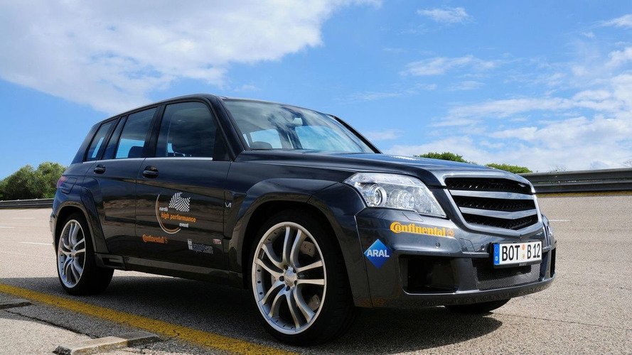 BRABUS GLK V12 to Debut at Dubai Motor Show