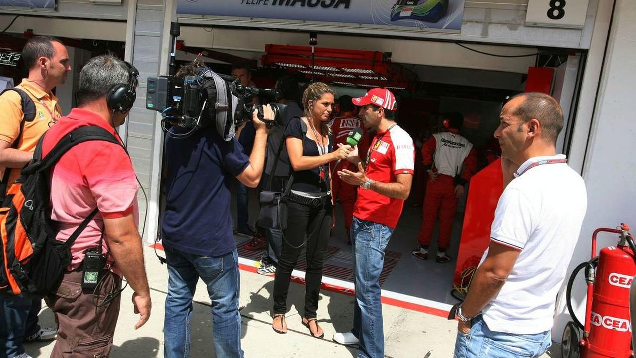Marc Gene, Test Driver, Scuderia Ferrari, Hungarian Grand Prix 26.07.2009