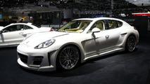 Fab Design Porsche Panamera live in Geneva 03.03.2010