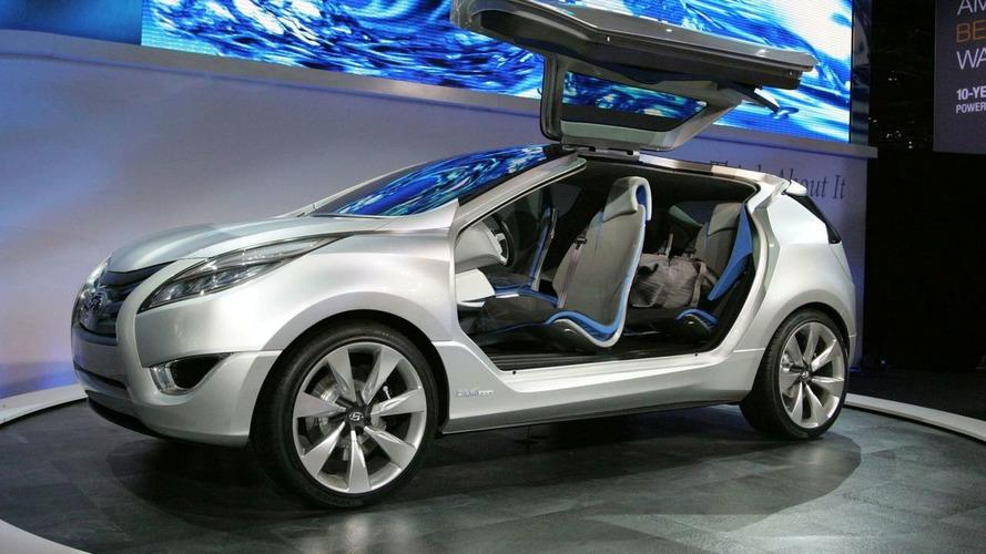 Hyundai Nuvis Concept World Premiere at New York Auto Show