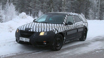 Saab 9-5 Wagon Spied winter testing in Sweden 17.01.2010