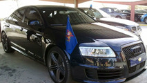 Audi RS6 of the King of Spain, Juan Carlos I. - 1024 - 21.01.2010