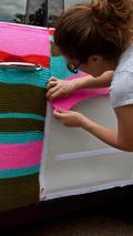 MINI Countryman gets yarn-bombed