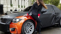 BMW 1-Series M Coupe teasers from Paris