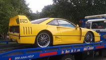 Ferrari F40 replica based on 1987 Pontiac Fiero