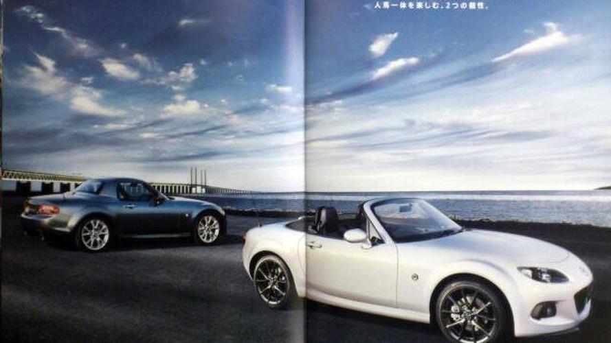 2013 Mazda MX-5 facelift leaked