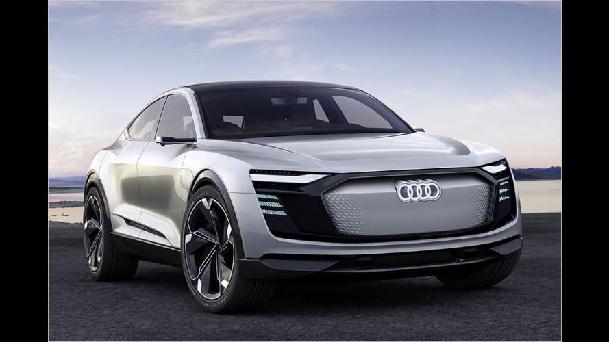 Audi e-tron Sportback Concept: Premiere in Shanghai
