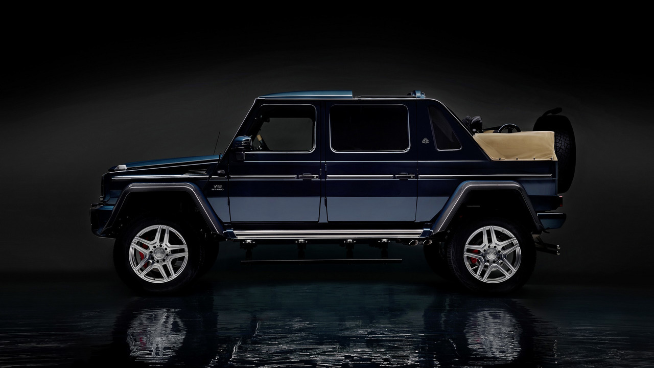 Mercedes-Maybach G 650 Landaulet 2017