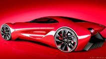 Alfa Romeo 6c DiscoVolante par Alex Imnadze