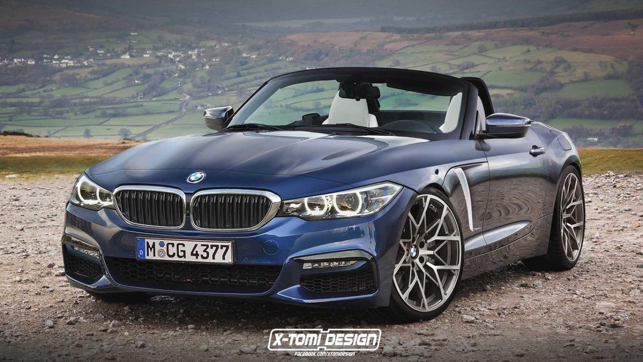 BMW Z4 2018 - Projeção