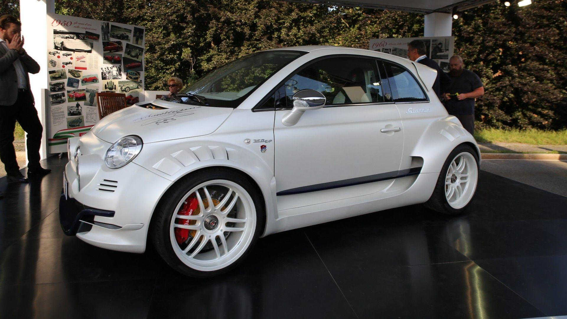 Fiat 500 Giannini Is Super City Car With 350 Hp From Alfa