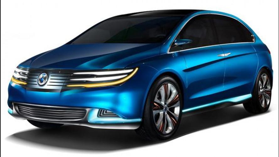 BYD-Daimler DENZA Concept