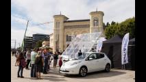 Nissan Leaf ad Oslo per il Guinnes dei Primati