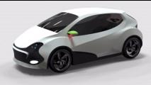 Biomotion Alux Concept, l'auto elettrica low cost messicana