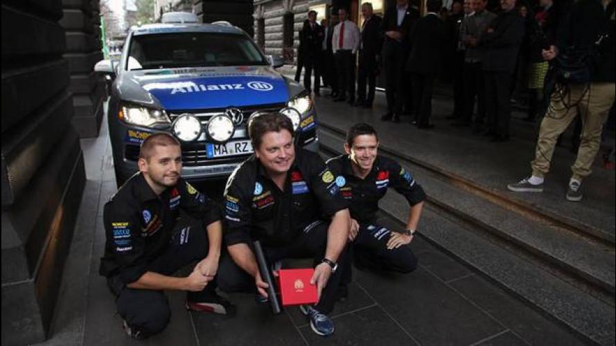 Dall'Australia alla Russia… in VW Touareg