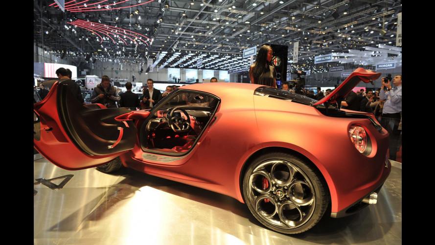 Alfa Romeo 4C, cosa c'è sotto la pelle