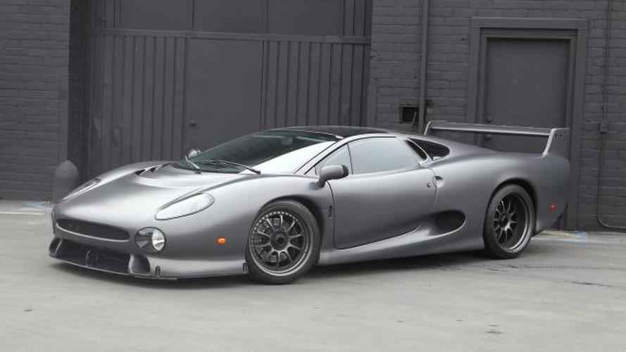 Rare Jaguar XJ220S headed for auction