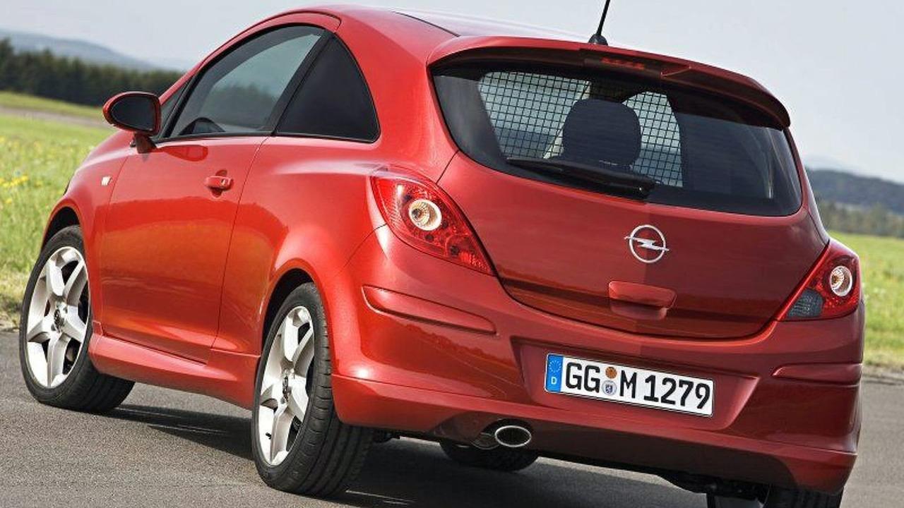 Opel CorsaVan Concept