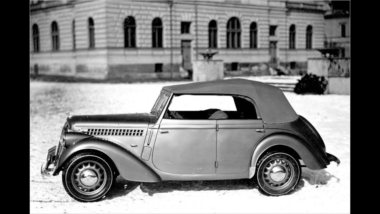 1935: Skoda Rapid Cabriolet