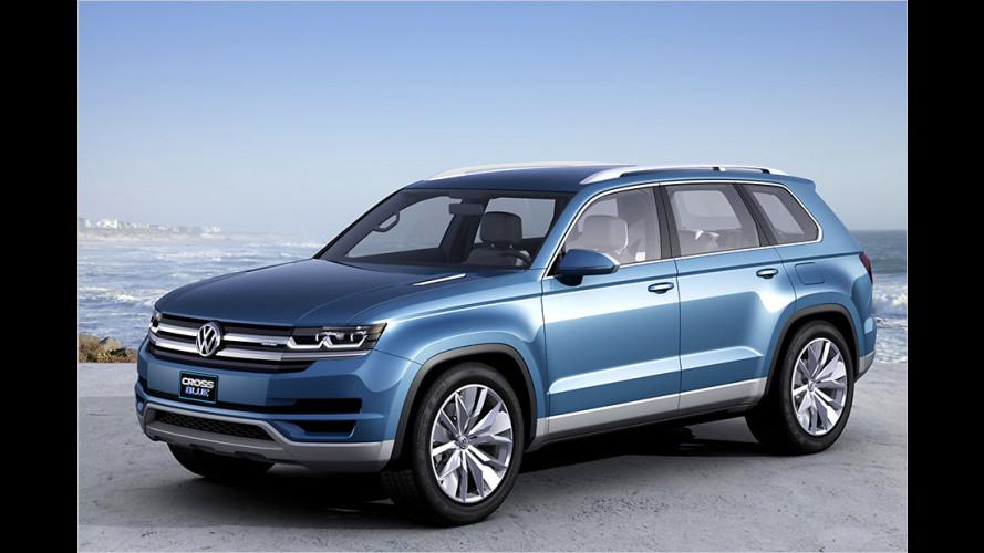 VW CrossBlue: Studie mit Hybridantrieb