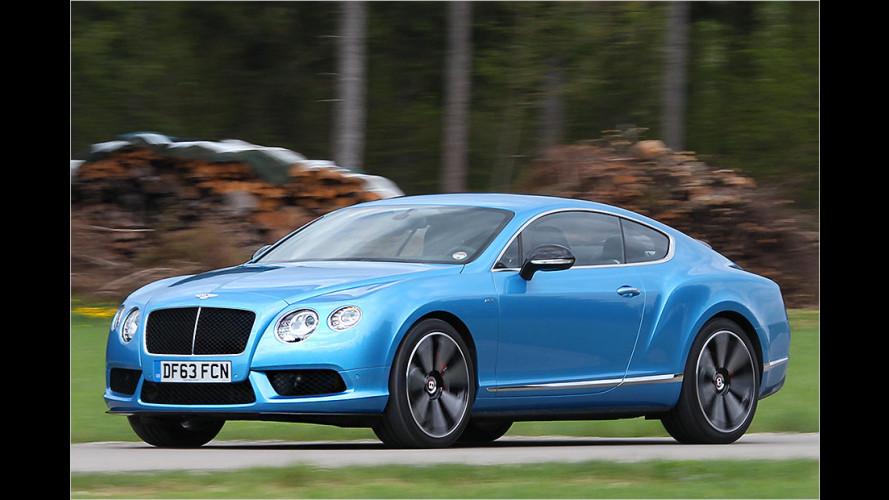 Bentley mit Biss im Test