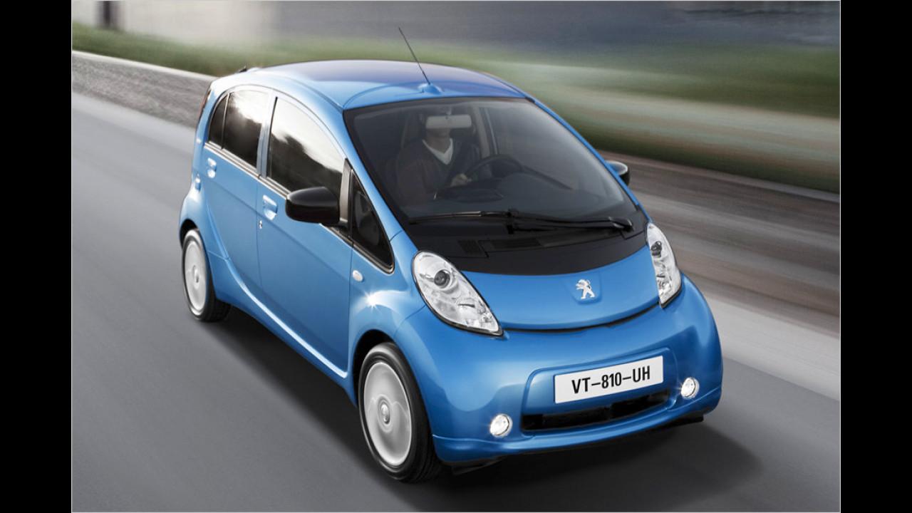 iOn: Gerade mal 48 Stück kamen in Deutschland von Peugeots Elektroauto auf den Markt
