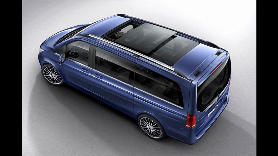 Mehr Luxus für den Van