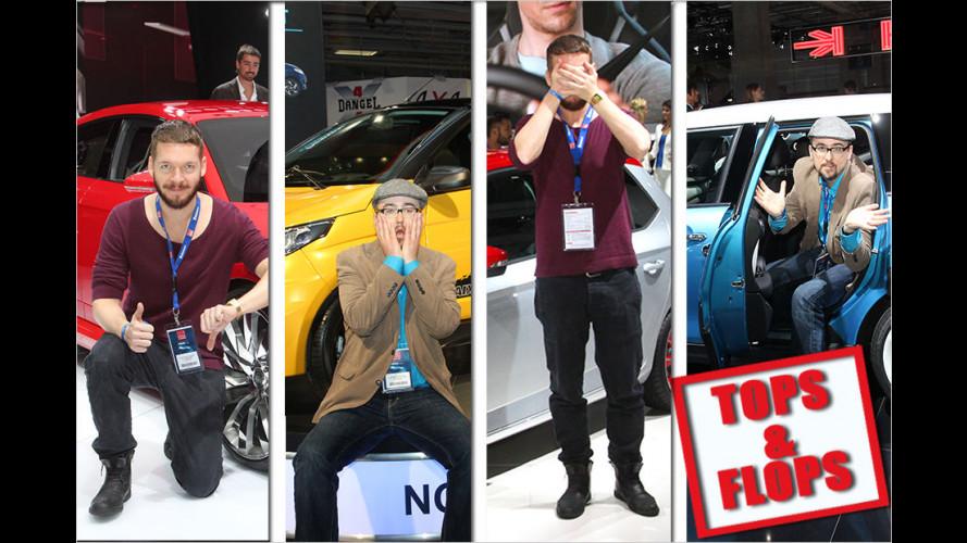 Pariser Autosalon 2014: Die Tops und Flops