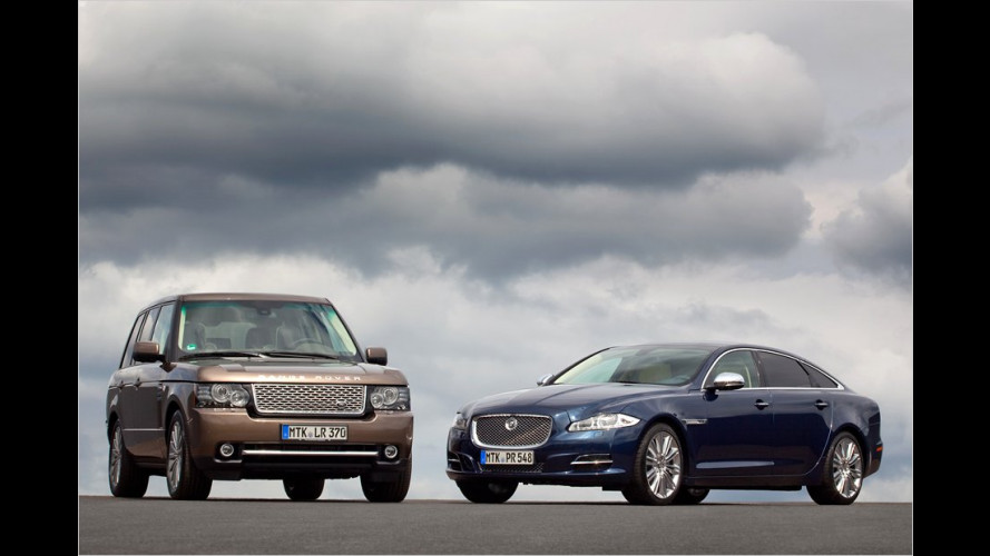 Jaguar XJ Diamond Edition und Range Rover Westminster