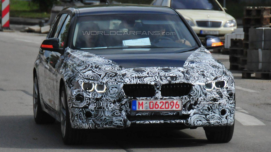 2012 BMW 3-Series Touring Wagon spy photos reveal more details