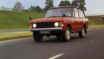 Land Rover celebrates Range Rover's 45th anniversary