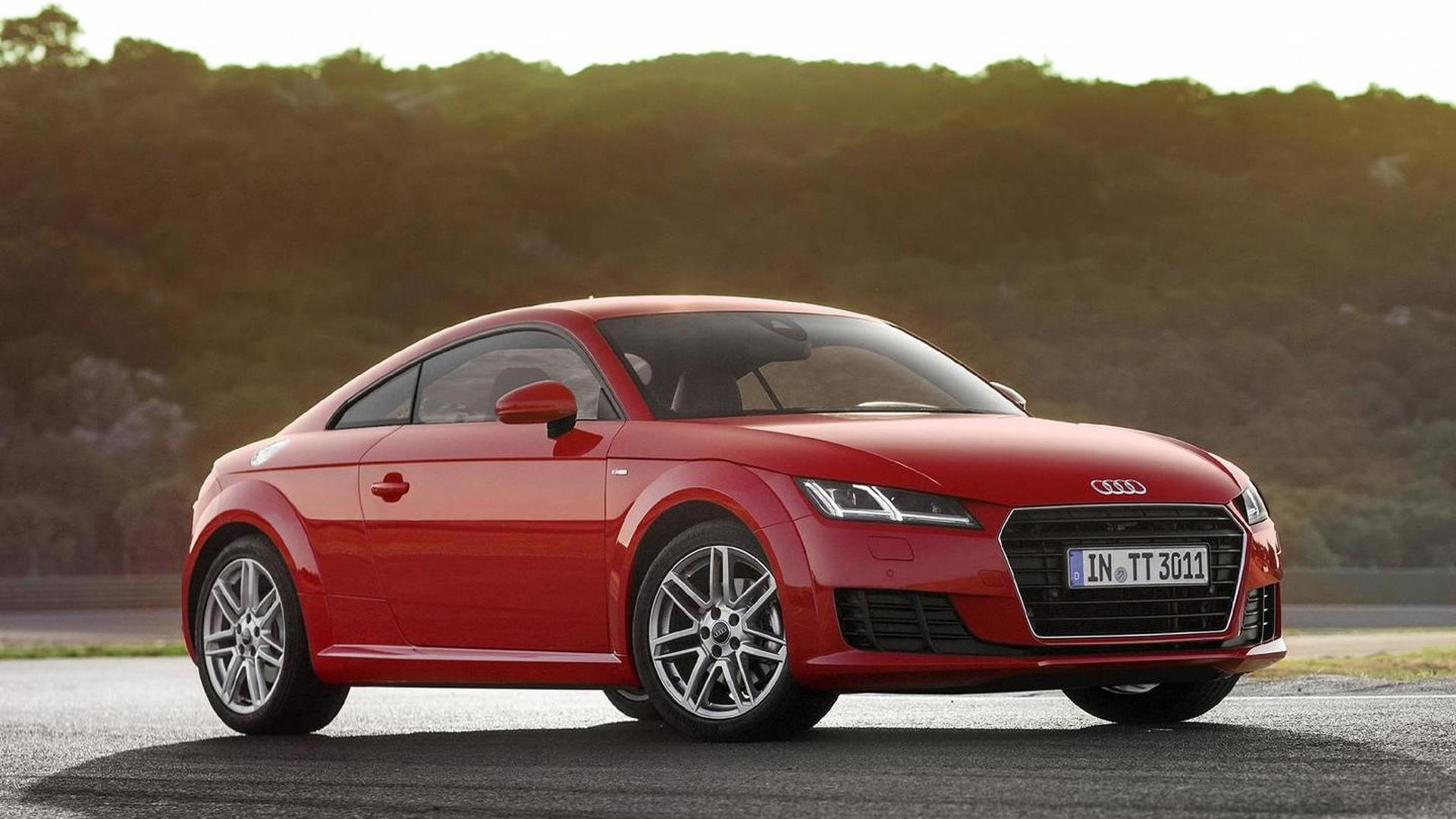 Дешевая Audi TT 1.8 TFSI