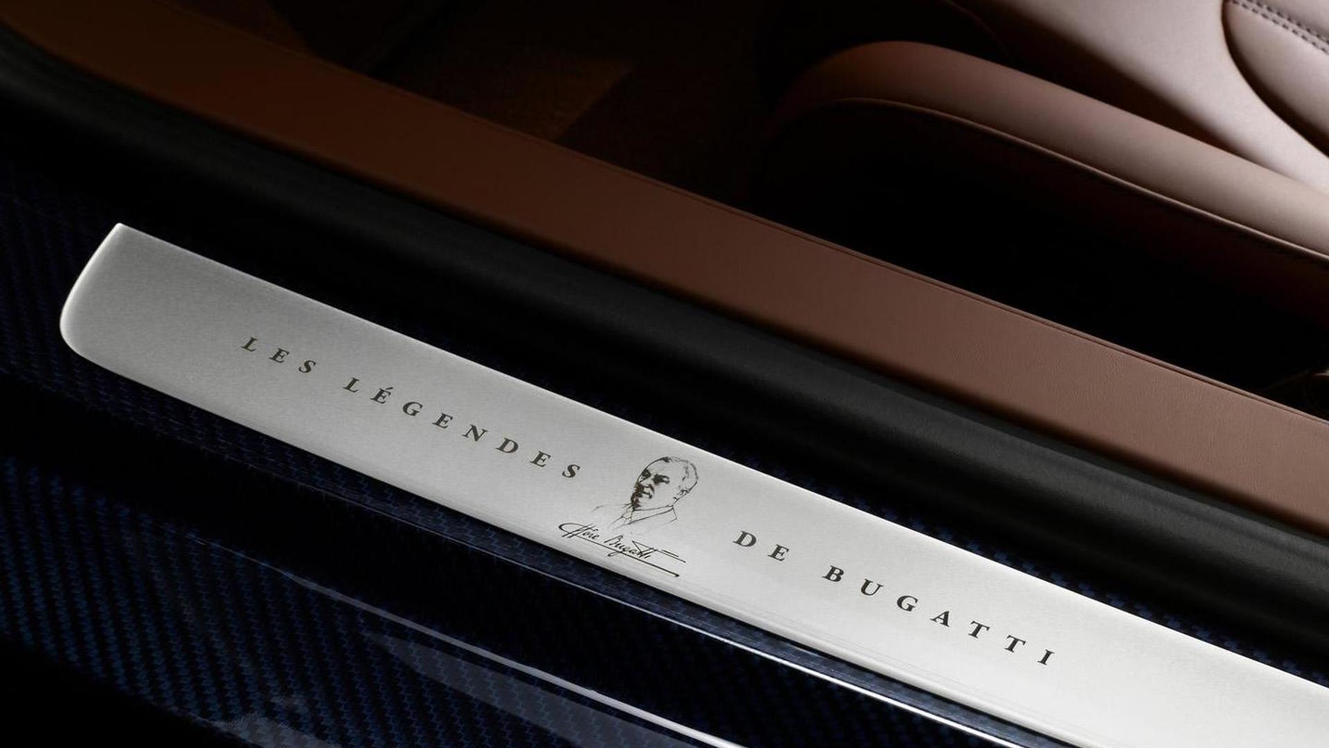 Накладка на пороги Bugatti Veyron Ettore Bugatti Edition