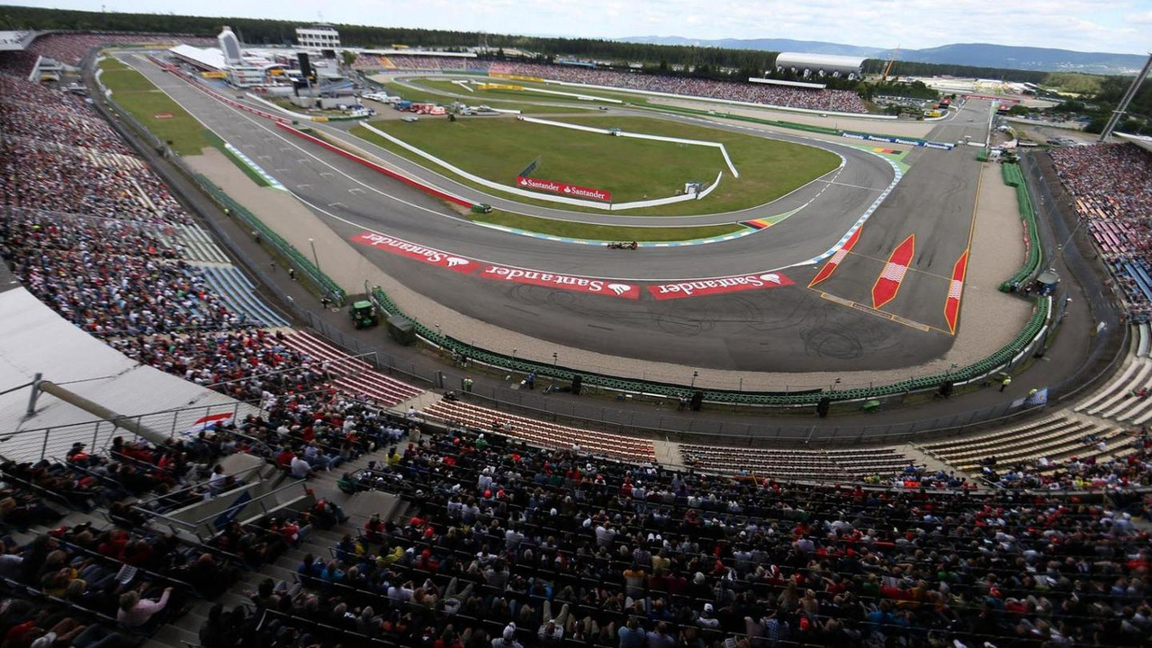 Hockenheim race track / f1fanatic.co.uk