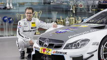 Mercedes unveils a C 63 DTM with MV Agusta livery