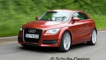Audi A1 - Artist impression