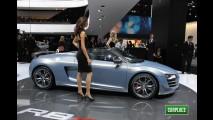 Audi R8 GT Spyder 2012 tem preços a partir de US$ 210.000 nos Estados Unidos