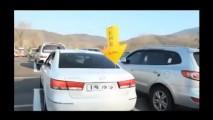 Vídeo: posto de gasolina sul-coreano cria um novo meio de economizar combustível