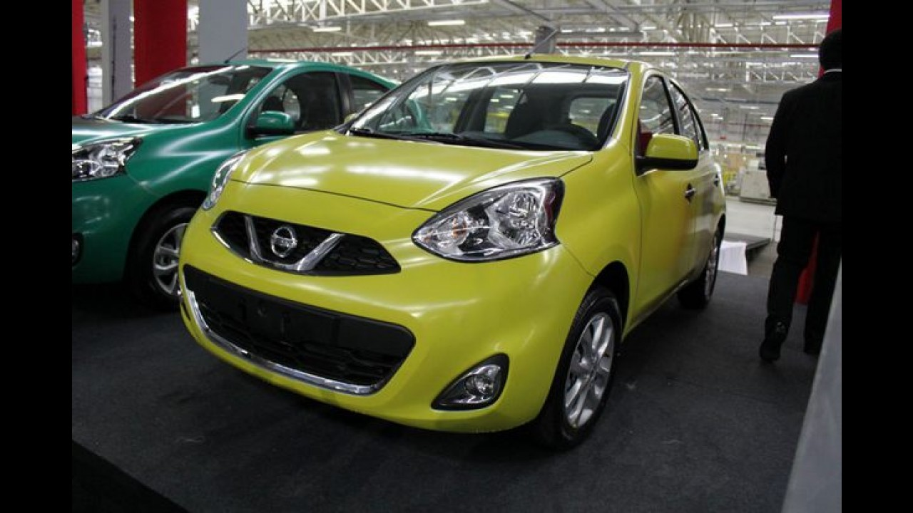 Nissan inaugura fábrica em Resende (RJ) com New March - meta é 5% do mercado