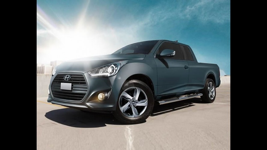 Hyundai revela picape do Veloster em resposta à Strada 3 portas