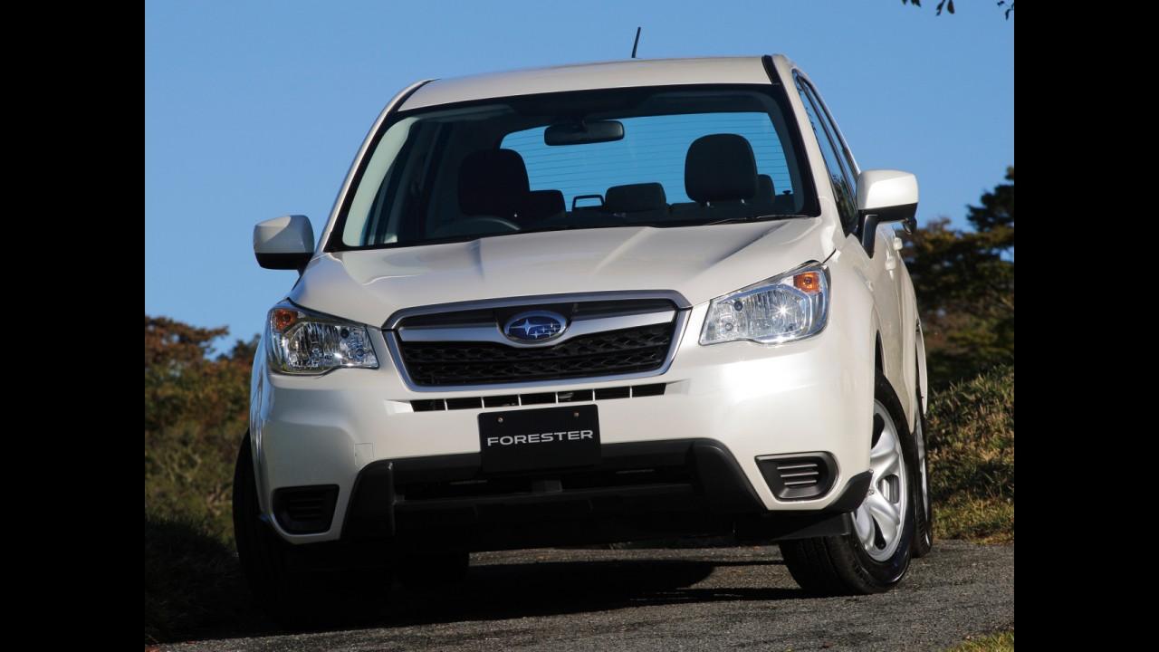 Nova geração do crossover Forester supera expectativas da Subaru no Japão