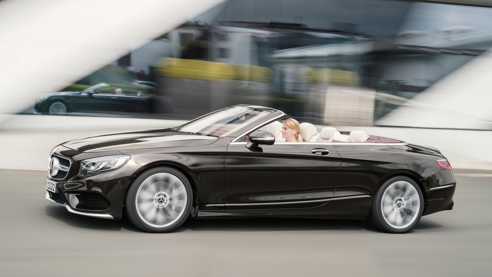 Refreshed 2018 Mercedes S Class Cabriolet Revealed