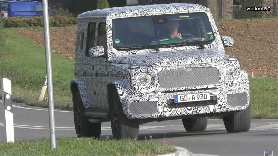 Next-Gen Mercedes-Benz G63 Spy Video